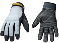 Wholesale Genuine Youngstown Highest Quality Glove Mesh Utility Plus Performance Glove Large Breathe freely sweat gray SY0102T