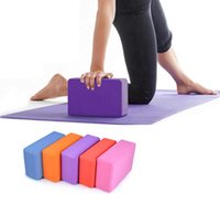 Wholesale Yoga Block Brick Foaming Foam Home Exercise Practice Fitness Gym Sport Tool