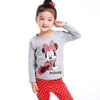 Wholesale hot brand girls winter clothing set bebe infant clothes newborn outfit organic cotton pajamas clothes suits infant sleepwear