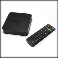 Wholesale by dhl or ems pieces MXQ TV BOX S805 Quad Core IPTV Android TV box Kitkat K GB GB XBMC Load WIFI Airplay Miracast