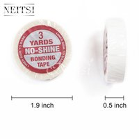 base bond adhesive - Neitsi PC inch Yards NO SHINE BONDING Tape Double Side Adhesive Tape For Skin Weft Tape Hair Extensions LINER SIDE TO BASE