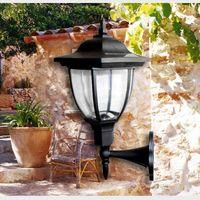 Wholesale hot sale IP65 Waterproof LED Solar Wall Lamp Light Control Wall Mounted Garden Light Courtyard Landscape Decoration Lighting SOB057