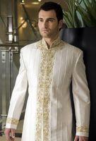 Wholesale 2017 Men New Fashion Designer Wedding Groom Indowestern Sherwani Suit Coat Jacket