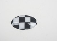 abs checker - Brand New ABS Material UV Protected Checker Style Shift Knob Cover For mini cooper F56 AT Option Set