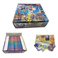 Wholesale New Fashion Poke Trading Cards Games Steam Seige English Edition Anime Pocket Monsters Cards Toys F830