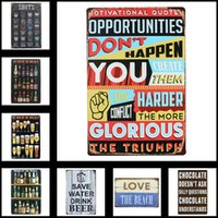 Wholesale Tin Signs Bar Decoration Retro Metal Signs X30cm X11 in