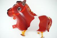 Wholesale Hot Kids Gift Cute Cartoon Walking Pets Foil Balloon Animal Airwalker Helium Fun Birthday Parties Decoration For Kids Toy
