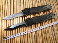 Wholesale Microtech socom Tactical Knife Aluminum Handle colours Singlel edge camping knives EDC Pocket knife Survival knife Pocket knife Tacti
