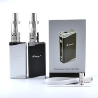battery box kit - 100 Original kvapor M7 Jomo electronic cigarettes w box mod kit with built in battery vs kangertech subox mini kit