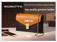 Wholesale Lichi leather bag M41200 high quality genuine leather women s handbag shoulder bags crossbody bags M40780 Chains Pallas hangbag