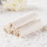 bamboo kitchen set - Mini Face Towel White Bamboo Fiber Soft Toallas Strandlaken Kitchen Towels Quick Dry Towel Drying Women