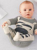 Wholesale 2015 Unisex Newborn Baby Boy Girl Sleepwear Pajama Babygrows Baby Rompers Playsuits sets