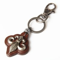 animal crossing personalities - KY0146 leather leather has hip hop children personality Keychain