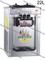 Wholesale L Flozen Yogurt Countertop Stainless Steel Commercial v Hz v Hz Electric Flavor Soft Ice Cream Maker Machine