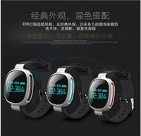 android intelligence - E08 kinesthetic intelligence in real time heart rate monitoring bracelet Bluetooth bracelet waterproof swimming jogging intelligent alerts