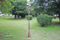 american light pole - 7 foot foot American European with rod classic outdoor lawn light vintage garden lamp with pole