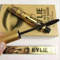 Wholesale Good Leo Kylie Birthday edition thick waterproof mascara kylie Black Eye Mascara Long Eyelash Cosmetics Makeup Black Lash Volume Mascara