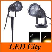Wholesale New Arrival w Led Lawn Lamp Lights w Out Led Landscape light for Garden Park waterproof IP65 led floodlight AC85 V V