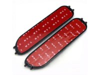 audi tt plastics - For S line S LINE Matte Plastic Side Fender Vents Badge Emblems X70mm For AUDI A1 A8 TT R8 Q3 Q5 Q7 TT