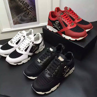 Wholesale 2016 PP New men to help low shoes men Philipp Plein brand men s shoes