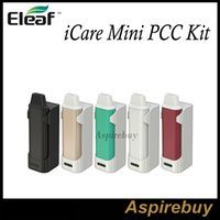 base heads - Eleaf iCare Mini Kit Eleaf iCare Mini PCC Kit All in One Kit with Internal Tank and Airflow System with New IC Head PCC Base Authentic