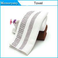 33 * 74 centímetros espessado 100% algodão toalha toalhas novas estilo banho atacado toalhas de rosto Toalha de mão de água forte para o transporte livre 010.268