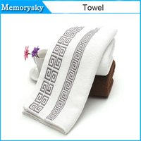 Wholesale 33 cm Thicked cotton towel New style towels bath towel Hand Face Towels Strong water for