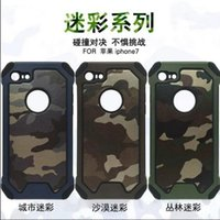 Wholesale Camouflage CASE Camo Defender Slim Armor Case TPU PC Cases For iPhone Plus Samsung S5 S6 S7 Edge iphone iphone plus samsung note