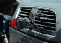 Support voiture universel pour lg 6s iphone g3 ainsi que le téléphone mobile cellulaire 360 degrés évent d'air flexible montage support soporte voiture movil GPS