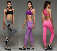 Wholesale Womens Running Pants Compression Running Tights Sport Pants Fitness Woman Trousers Yoga Leggings Woman Sport Leggins Gym Pants