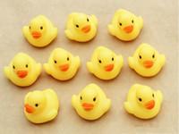 Bambino bagno d'acqua giocattoli giocattolo Suoni Mini gomma gialla anatre bambini bagno Giocattoli per bambini di nuoto Beach Regali 4000pcs