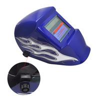 Wholesale New Arrival High Quality Pro Solar Auto Blue Welding Helmet Arc Tig Mig Mask Grinding Welder Mask