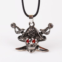 barbarian movies - Mens Necklaces Movie Jewelry Pirates of the Caribbean Pendant Exaggerated Jewelry Vintage Medieval Barbarian Skull Viking Pendant Necklace