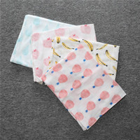 Wholesale Baby Swaddles Wraps Blankets Muslin Ins fruits Nursery Bedding Newborn Organic Cotton Swadding Bath Towels Parisarc Quality Maternity