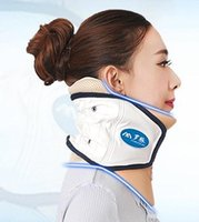 Wholesale Air wave of cervical traction apparatus Neck guard home neck massage neck inflatable tensile tractor neck guard