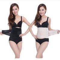 Wholesale 100pcs Women Postpartum Corset Belt Summer Thin Breathable Slimming Waist Support Belts Tummy Trimmer