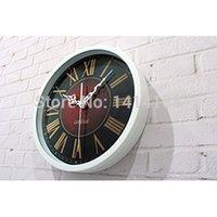 Wholesale wall clocks vintage kitchen vintage vintage home decor saat relojes pared decoracion watch large digita relogio parede plastic