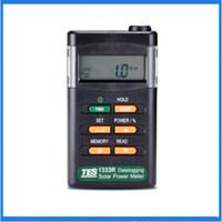 Wholesale TES Solar Power Meter Solar Power Meters Digital Radiation Detector Solar Cell Energy Tester