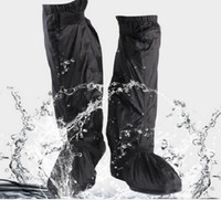 Wholesale Motorcycle Cycling Rain Proof Boots Shoes Cover Rain Gear Skiing Fishing Camp Waterproof S XL Two Size Brand New