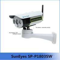 micro sd card wifi - SunEyes SP P1803SW P Full HD Pan Tilt IP Camera Wireless Outdoor Wifi Support Micro SD Card Slot