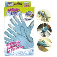 appliance suppliers - Magic Bristle Gloves The Revolutionary Cleaning Gloves With Fingers Scrub Cleaning Brush Household Cleaning Tools kitchen Supplier