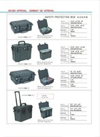 Wholesale models of Tool case Impact resistant sealed waterproof safety equipment case with Trolley and Wheels foam linning are free