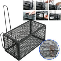 animal trapping supplies - 2xRat Catcher Spring Cage Trap Humane Large Live Animal Rodent Indoor Outdoor patio Lawn Garden Supplies SD G01