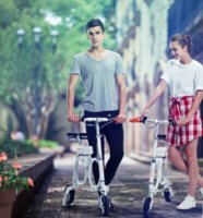 Wholesale Airwheel E3 Folding electric vehicle Adult intelligent electric folding bicycle