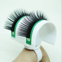 Wholesale New Eyelash Extension Tools Professional U Shaped Lash Strip Pallet Ring Eyelash Stand Makeup Tools