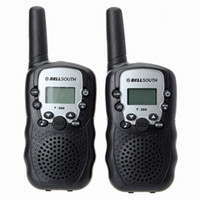 Wholesale 2016 Brand new bellsouth a pair Walkie Talkie Travel T W UHF Auto Multi Channels Way Radios Interphone set