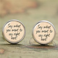american poetry - 10pairs Wedding Poetry earring Say what YOU want to say earring print photo Bible Verse earring