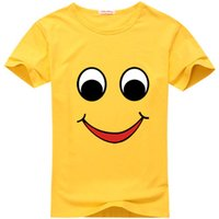 Wholesale kids clothing smile summer baby t shirt