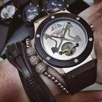 automatic watch manufacturers - Manufacturer Big Bang luxury automatic mechanical watch rubber band Tourbillon Automatic watch Men s Watches