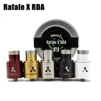 Electronic Cigarette anti cloning - Uwell Rafale X Tank RDA Clone mm Diameter Rebuildable atomizer Anti Spit Back System Dual drip tips colors optional Fit Vapor Mod